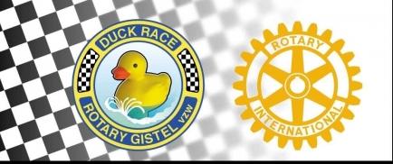 Rotary Gistel Duck Race 21 juni 2020