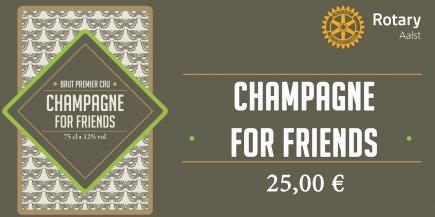 CHAMPAGNE for FRIENDS - doos 6 flessen à 150,00 €