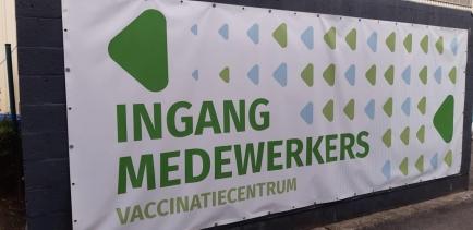 ... het vaccinatiecentrum